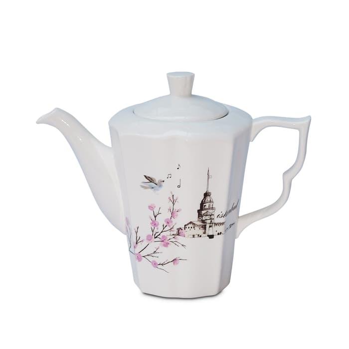 Karaca Kiz Kulesi Teapot